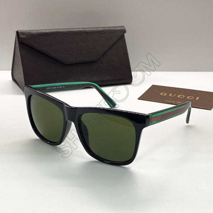 Мужские стильные солнцезащитные очки (0057) green