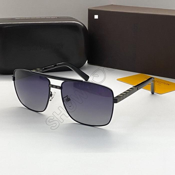 Мужские солнцезащитные очки  Louis Vuitton (0259)