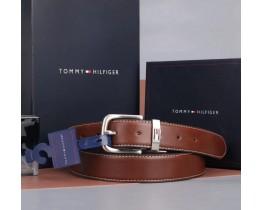 Мужской кожаный ремень в подарочной упаковке (056), подарочный набор