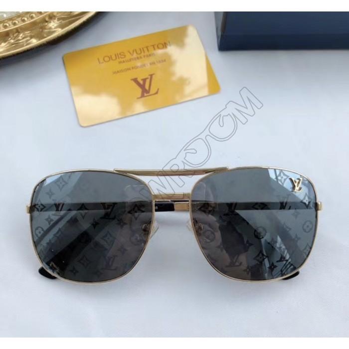 Женские модные солнцезащитные очки (0866) gold LUX