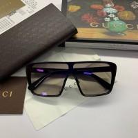 Женские очки маска от солнца (11070) blue mirror