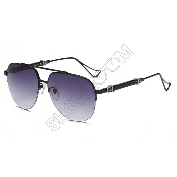 Мужские очки от солнца Chrome Hearts KLX118 black
