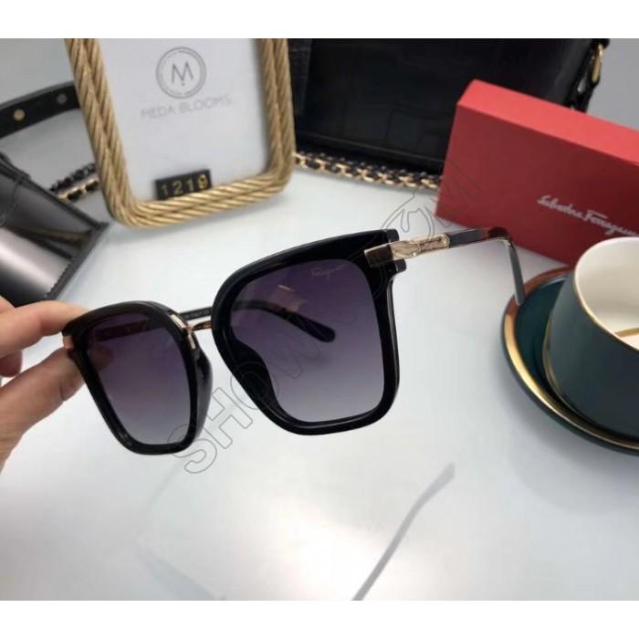 Женские брендовые солнцезащитные очки (1219) black
