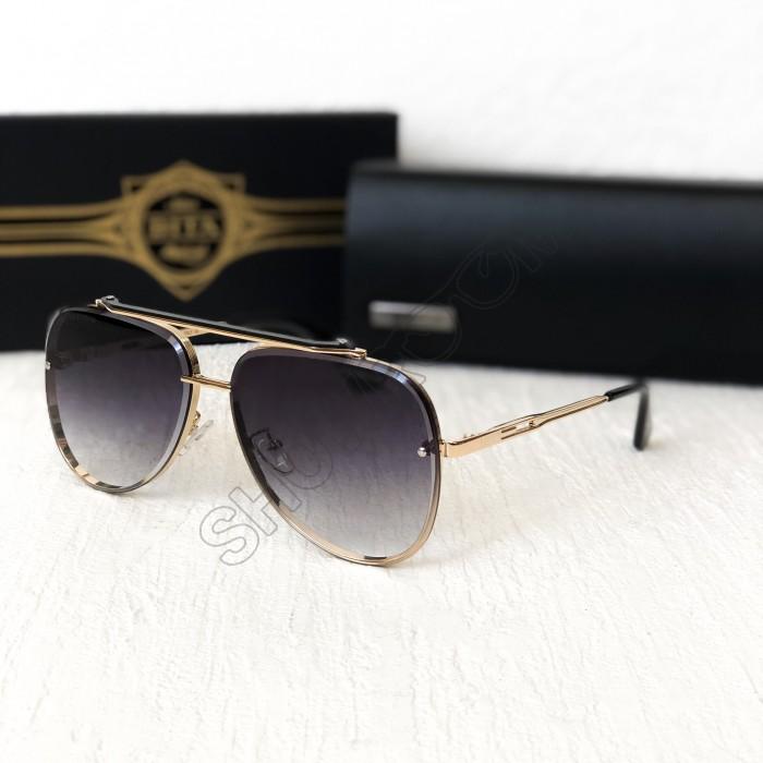 Женские солнцезащитные очки авиаторы Dita (122) grey