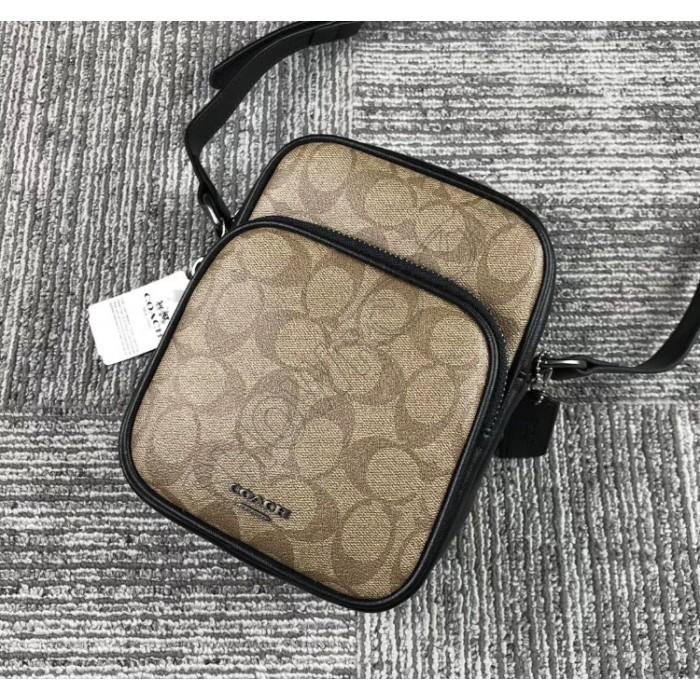 Чоловіча сумка на плече Coach (1317)