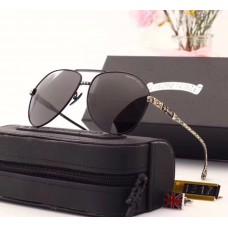 Мужские солнцезащитные очки Chrome Hearts (1317) black