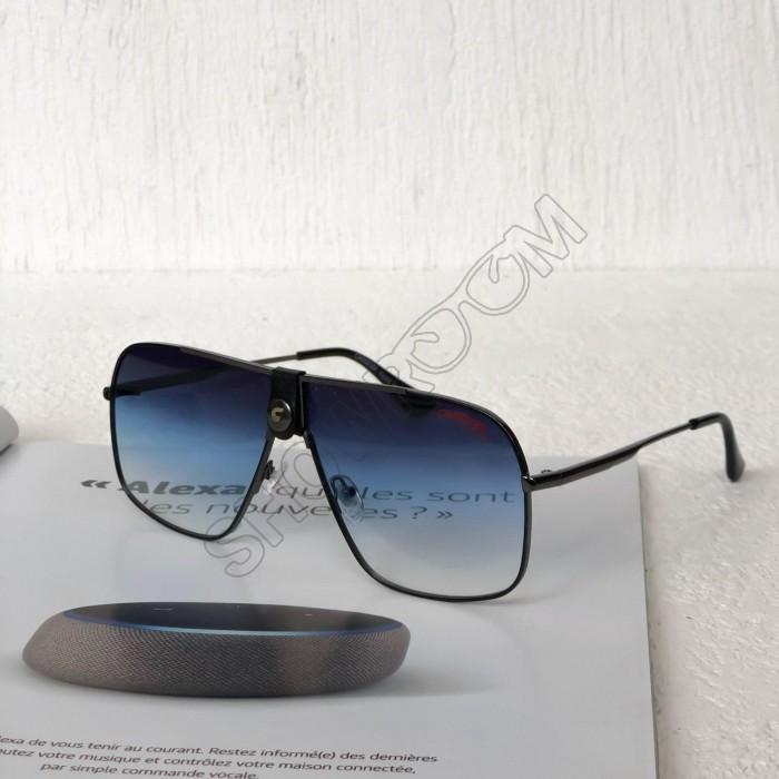 Мужские солнцезащитные очки маска Carrera (1810) grey