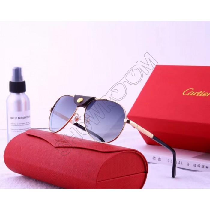 Мужские солнцезащитные очки Cartier (19979) gold