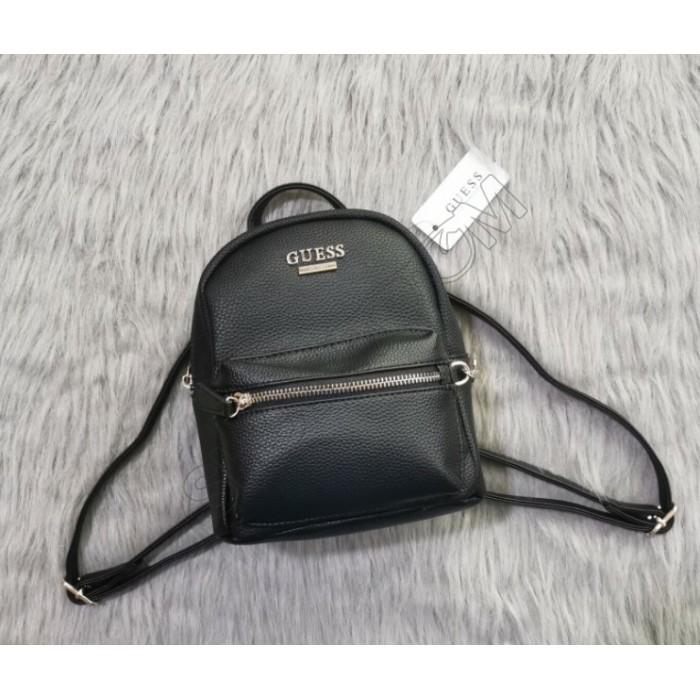 Женский брендовый рюкзачок-сумка Guess (20082)