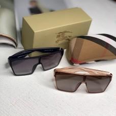 Жіночі брендові сонцезахисні окуляри маска (2020) beige