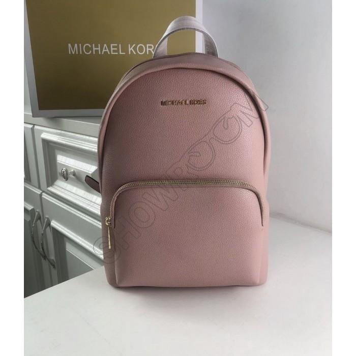 Женский кожаный брендовый рюкзак Michael Kors 2021 Pink Lux