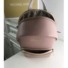 Жіночий шкіряний брендовий рюкзак Michael Kors 2021 Pink Lux