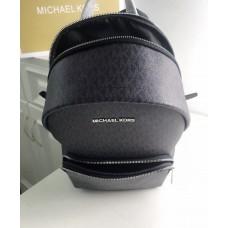 Жіночий шкіряний брендовий рюкзак Michael Kors 2021 Grey Lux