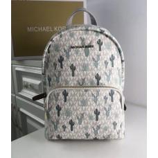 Жіночий шкіряний брендовий рюкзак Michael Kors 2021-1 (cactus) Lux