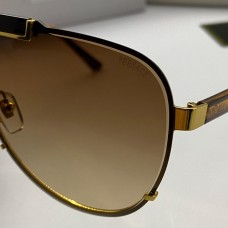 "Брендові сонцезахисні окуляри ""маска V-2140 LUX brown"