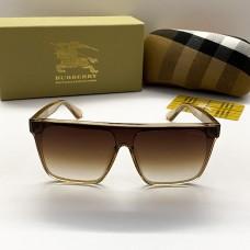 Жіночі брендові сонцезахисні окуляри маска (2281) beige
