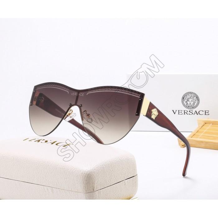 Брендовые очки от солнца (2288) коричневые