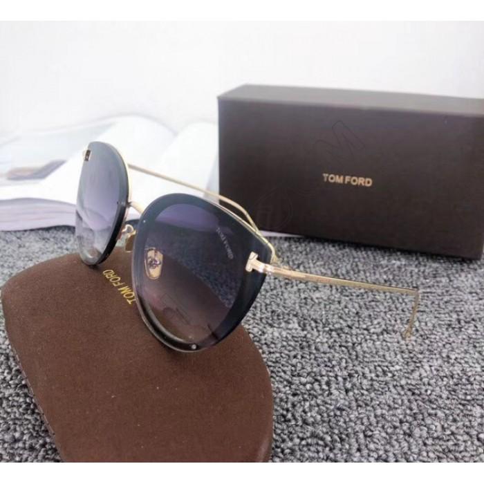 Брендовые женские солнцезащитные очки TF (7297) black
