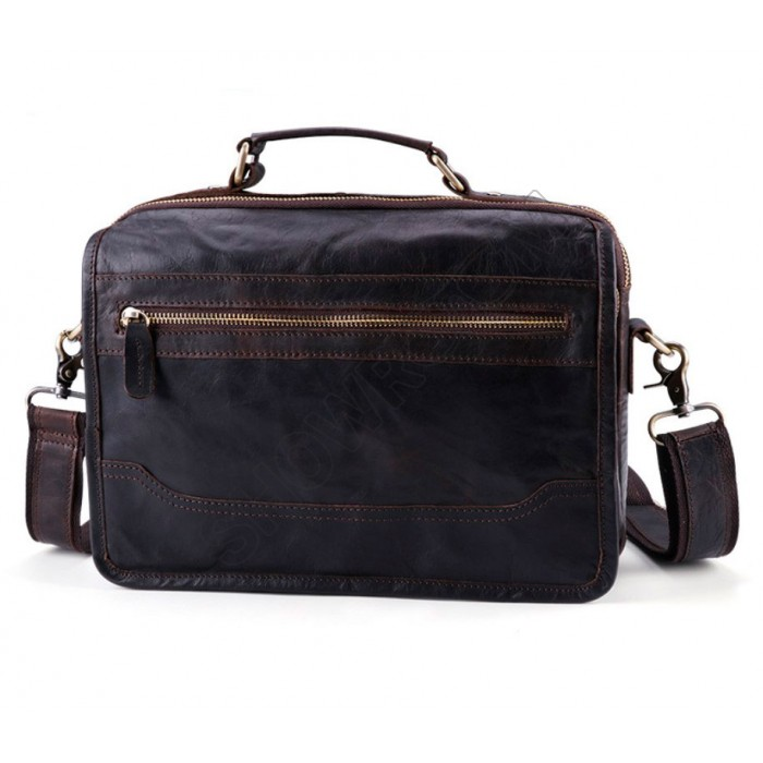 Мужская кожаная сумка Wild Collection (261)