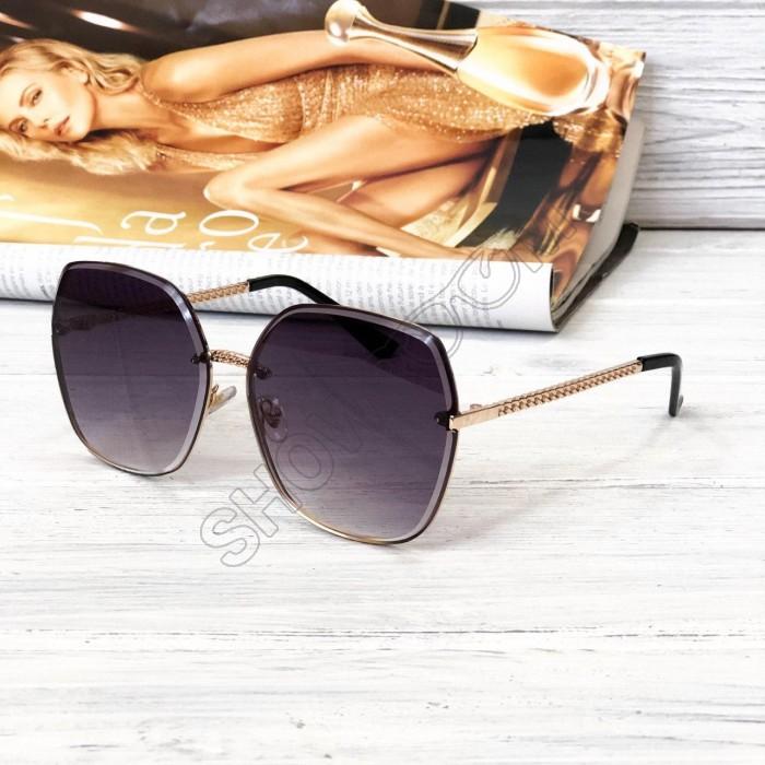 Женские стильные солнцезащитные очки (2655) grey