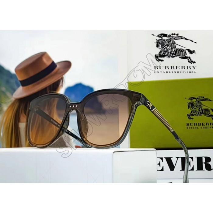 Женские брендовые солнцезащитные очки (9106) grey