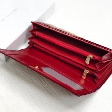 Жіночий стильний гаманець (290) red