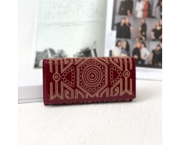 Женский стильный кошелек (290) red