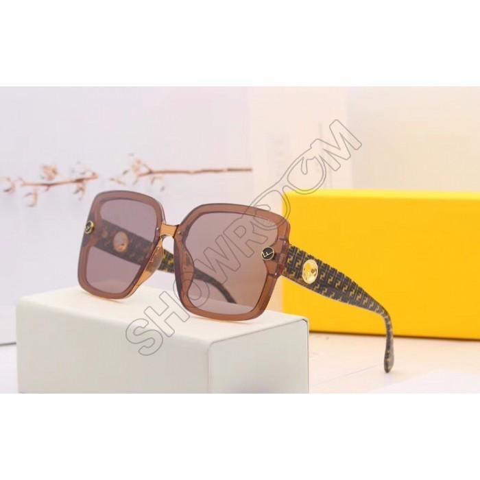Женские солнцезащитные очки Fendi (30078) brown