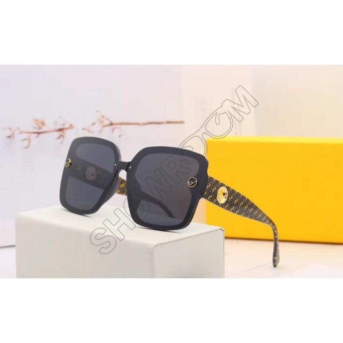 Женские солнцезащитные очки Fendi (30078) black