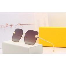 Женские брендовые очки от солнца Fendi (30130)