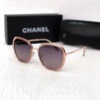 Женские солнцезащитные очки с поляризацией Chanel (3139) rose