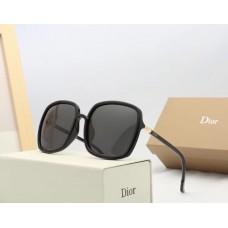 Женские большие очки от солнца (3193) black