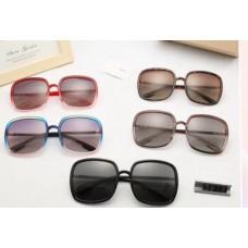 Женские большие очки от солнца (3193) brown