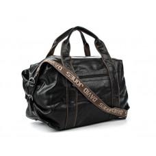 Дорожня сумка, саквояж, тревелбег David Jones (324) чорна