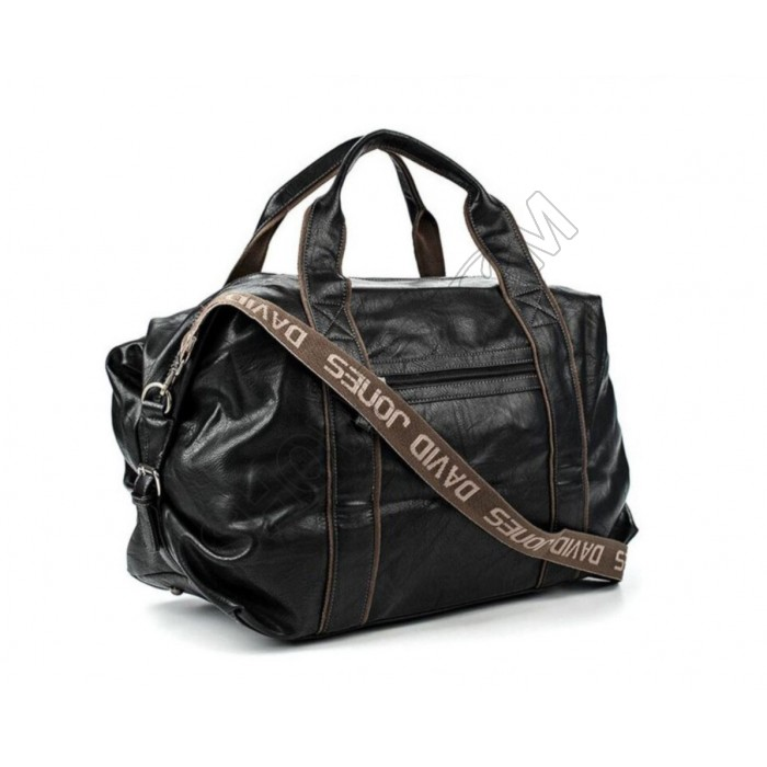 Дорожная сумка, саквояж, тревелбег David Jones (324) черная