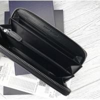 Мужской кожаный кошелек (3305) подарочная упаковка