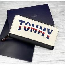 Чоловічий гаманець на блискавці (3306) подарункова упаковка