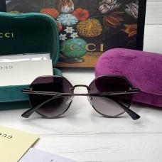 Женские круглые солнцезащитные очки GG (3322) black