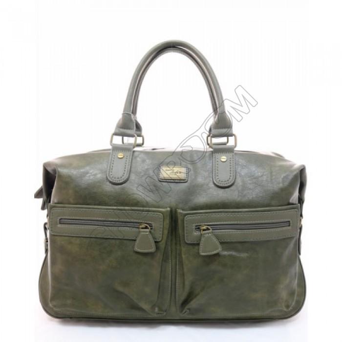 Мужская дорожная стильная сумка David Jones (355) хаки
