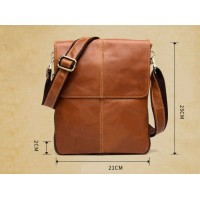 Мужская кожаная сумка планшетка Leather Collection (372)