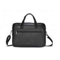 Мужская горизонтальная сумка на плечо Leahter Collection (373)