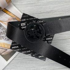 Женский кожаный ремень Guess (4001) black