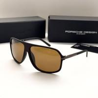 Мужские солнечные очки с поляризацией Porsche Design (4012) brown