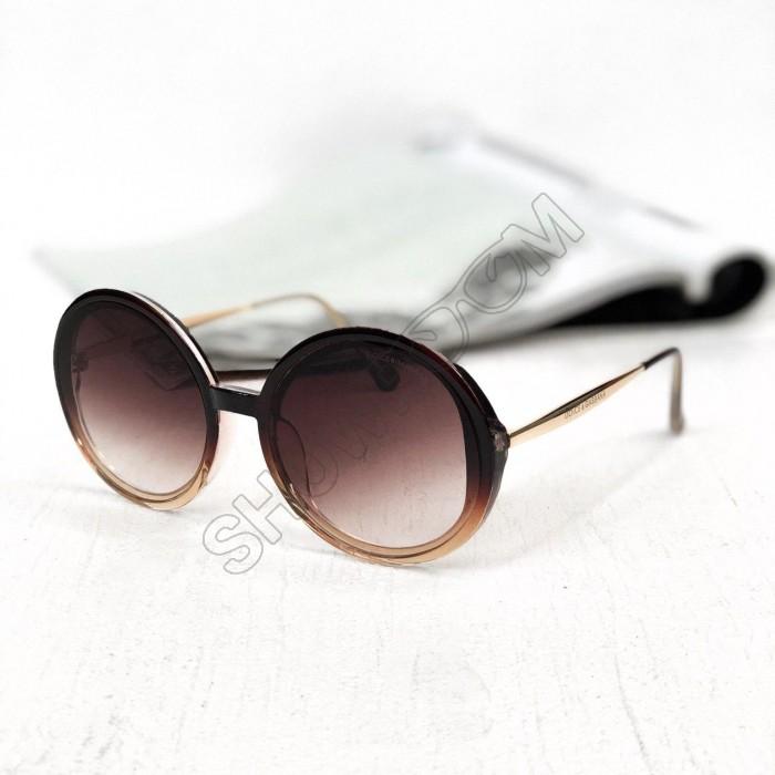 Жіночі сонцезахисні окуляри (4044) light brown