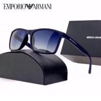 Мужские солнцезащитные брендовые очки (4064) blue