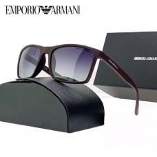 Мужские солнцезащитные брендовые очки (4064) brown