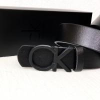 Женский кожаный ремень (408) black