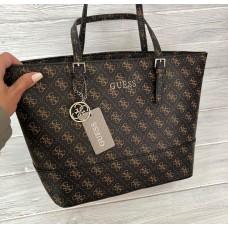 Женская сумка Guess (4424-1) brown