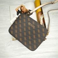 Женская сумка на плечо Guess (4425) коричневый