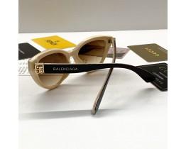 Женские солнцезащитные очки Balenciaga (4449) коричневые